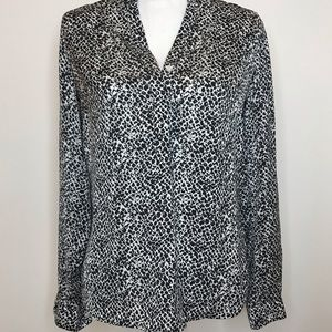 Banana Republic Heritage Collection Leopard Blouse